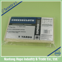 100%cotton natural color cheese cloth
